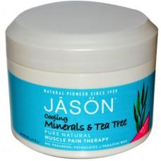 Минеральный терапевтический обезболивающий гель с маслом чайного дерева / Cooling Tea Tree Oil Therapeutic Mineral Gel, 8 oz-227 g