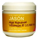 Крем с витамином Е-25000 МЕ / Age Renewal Vitamin E Crème 25,000 IU, Jason