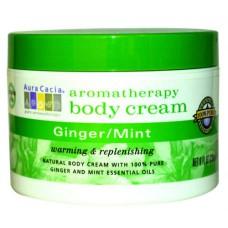 Имбирь и Мята ароматерапевтический крем для тела / Ginger Mint Aromatherapy Body Cream