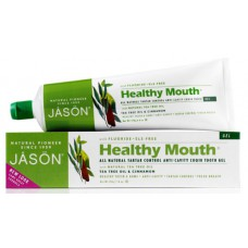 Зубная паста Healthy Mouth Plus гелевая с Q10  и маслом чайного дерева и корицей / Healthy Mouth CoQ10 Toothpaste Gel - Tea Tree Oil & Cinnamon