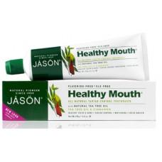 Зубная паста Healthy Mouth с маслом чайного дерева и корицей / Healthy Mouth Toothpaste, Tea Tree Oil & Cinnamon