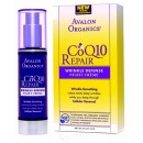 Крем ночной от морщин с Q10 / Wrinkle Defense Night Cream CoQ10 Repair, Avalon Organics