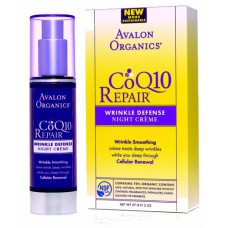 Крем ночной от морщин с Q10 / Wrinkle Defense Night Cream CoQ10 Repair