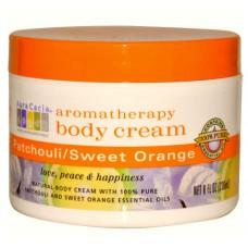 Пачули и сладкий Апельсин ароматерапевтический крем для тела / Patchouli Sweet Orange Aromatherapy Body Cream