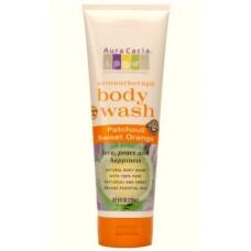 Гель для душа ароматерапевтический Пачули и Сладкий Апельсин / Patchouli Sweet Orange Aromatherapy Body Wash