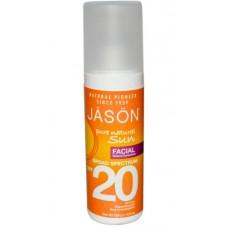 Солнцезащитный крем для лица  натуральный SPF 20 / Sunbrellas Facial Natural Sunblock SPF 20