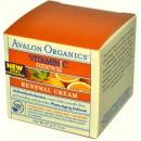 Крем с витамином С обновляющий / Vitamin C Renewal Cream, Avalon Organics