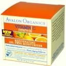 Увлажняющий крем с витамином С обновляющий / Vitamin C Renewal Rejuvenating Oil-Free Moisturizer, Avalon Organics