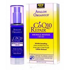 Крем от морщин дневной с Q10 / Wrinkle Defense Creme CoQ10 Repair